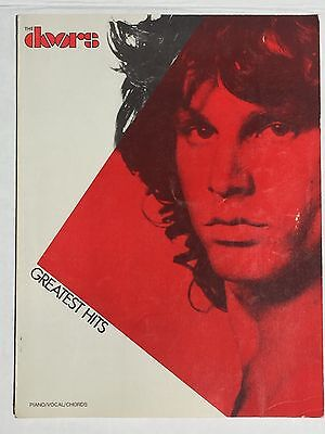 The Doors Greatest Hits Piano/Vocal/Chords Music Book 1983 Vintage
