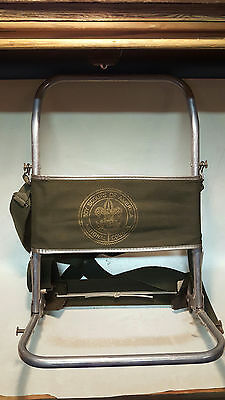 Vintage Boy Scouts National Council Aluminum & Canvas Backpack Frame Himalayan