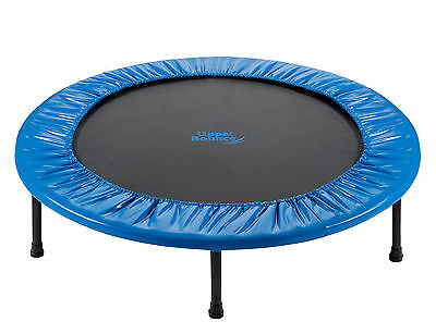 """Two-Way Foldable Rebounder 36"""" Trampoline with Carry-on Bag Upper Bounce (NEW)"""