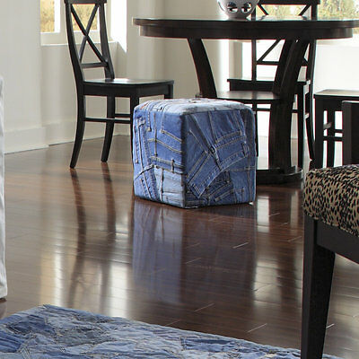 Runway Cotton Cube Ottoman Loloi Rugs Free Shipping High Quality