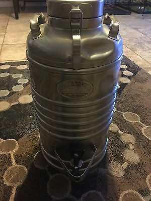 Vintage AERVOID Stainless Steel Hot and Cold Thermal Container