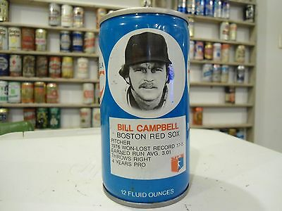 70's Rc Cola Soda Can Royal Crown Bill Campbell Boston Red Sox