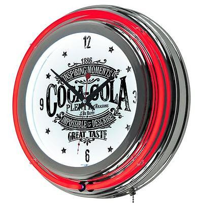 "Coca Cola Brazil 14.5"" Wall Clock Trademark Global Free Shipping High Quality"