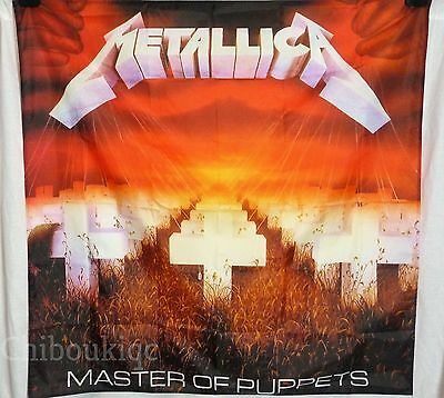 METALLICA Master of Puppets HUGE 4X4 BANNER poster tapestry cd album