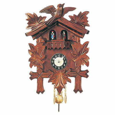 Carved Cuckoo Clock Black Forest Free Shipping High Quality