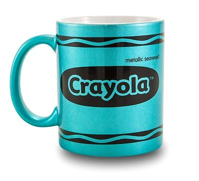 Crayola 11 oz Metallic Mug Green 82-0003
