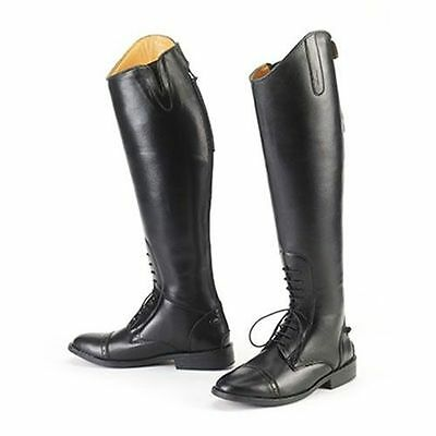 New EquiStar Ladies All Weather Field Boot - Black 7 1/2 -  Wide