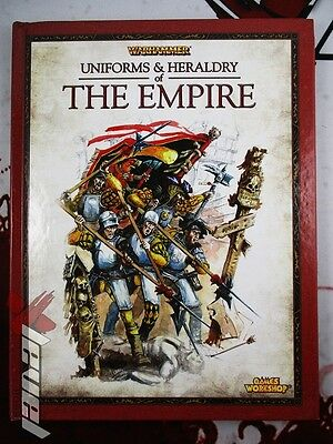 Uniforms and Heraldry of The Empire [x1] Books [Warhammer] Good