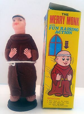 Vintage 1960's The Merry Monk Adult Gag Action Figure Novelty Toy