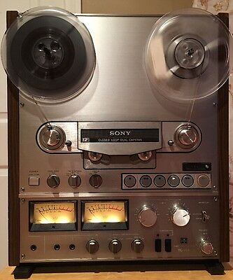 Sony Tc-765 4 Track 2 Channel Stereo Reel To Reel Tape Recorder *serviced*