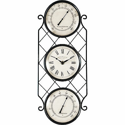 "Allergi 6"" Outdoor Clock FirsTime Free Shipping High Quality"