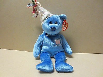 TY Beanie Babies Collection- Happy Birthday- September- With Hang & Tush tags