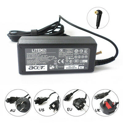 65W Genuine FOR Acer Aspire 5532 5535 5520 laptop AC Adapter charger power cord