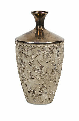 Tennison Tall Bronze Top Vase IMAX Free Shipping High Quality