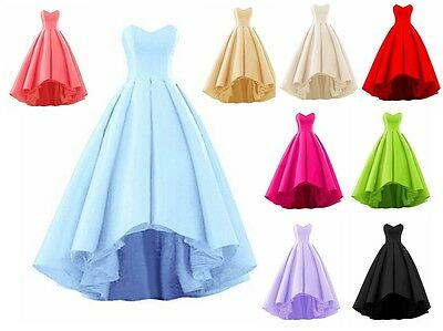 New Long Bridesmaid Prom Dress Chiffon Wedding Evening Formal Party Ball Gown