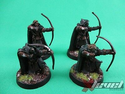 Faramirs Rangers [Metal] [x4] Kingdom of Men [The Lord of the Rings] Painted
