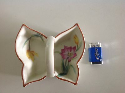 Noritake porcelain butterfly dish Very Old