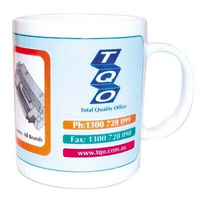 4 x MUG- TOTAL QUALTIY OFFICE EACH