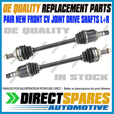 PAIR SUBARU FORESTER SG Auto 07/2002 - 02/2008 L&R FRONT CV Joint Drive Shafts
