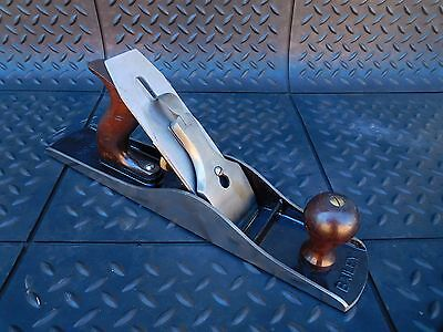 Vintage Stanley Bailey No.5-1/2 Jack Plane Corrugated Bottom Nice Plane LQQK!