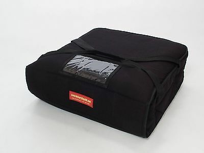 "Pizza delivery bags(Holds Two 16"" or Two 18"" Pizzas)Black"