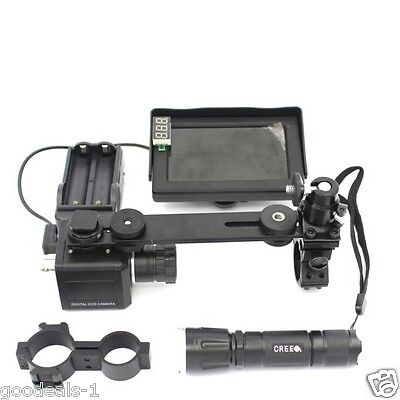 Hunting Night Vision Scope for Rifle Scope Add On DIY Digital CCD Camera Device
