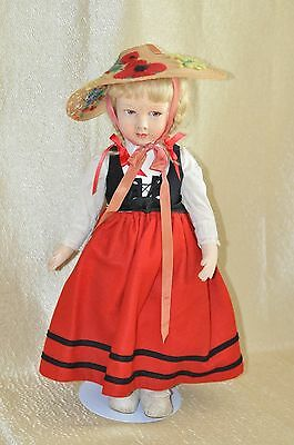 "Antique RARE 19""in.1930 French Poupees Raynal Original Doll"