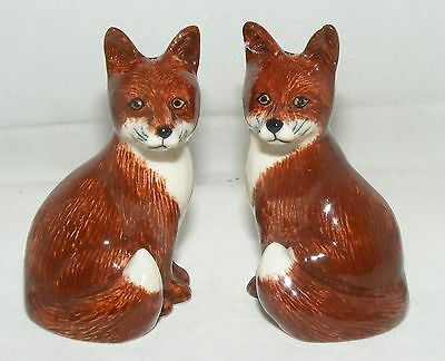Quail Ceramics Foxes Salt & Pepper Set 304