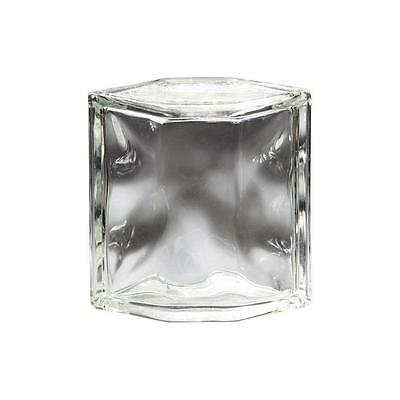 Pittsburgh Corning Decora 8 in. x 8 in. x 4 in. Hedron Glass Block (4-Pack)