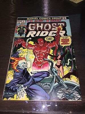 Ghost Rider #2 Bronze Age 1st Full Daemon Hellstrom Nice FN/VF  Son of Satan