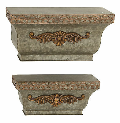 2 Piece Wall Shelf Set Darby Home Co Free Shipping High Quality