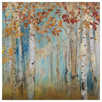 Birch Beauties II Painting Print on Wrapped Canvas Yosemite Home Decor (NEW)
