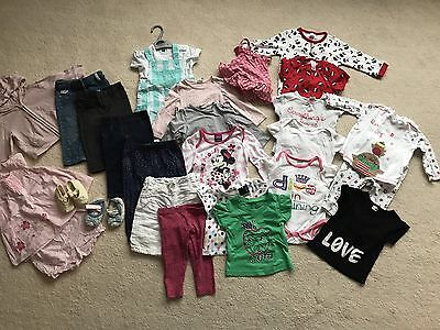 Baby Girl Clothing Bundle Age 6-9 Months Monsoon/Next/H&M/M&Co