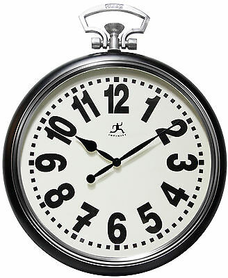 """20.5"""" Broadway Wall Clock Infinity Instruments Free Shipping High Quality"""