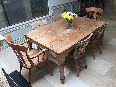antique table and chairs, good condition
