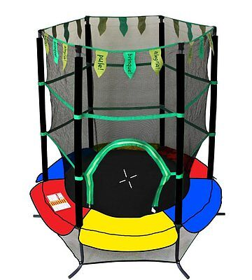 """Youth Jumping 55"""" Round Trampoline With Safety Enclosure Newacme LLC (NEW)"""