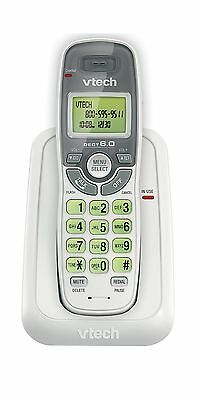 Vtech Dect 6.0 Single Handset Cordless Phone with Caller ID Green Backlit Key...