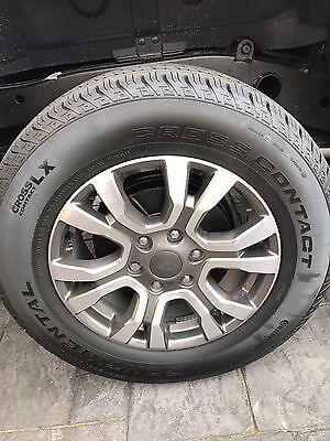 Ford Ranger Wild trak-4 X 18 Inch Wheels From 2017  Vehicle. Brand New.