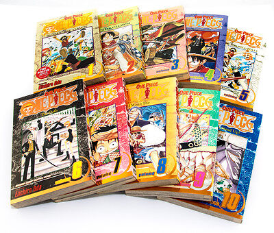 One Piece Manga, Issues 1 - 10