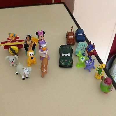 Disney Pixar Figures And Cars Plus Disney Collection
