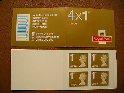 2011 Great Britain>Bar Coded Stamp Booklet>Rb2B