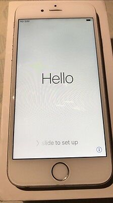 Iphone 6s 16gb mobile phone in silver /original box smartphone + extras