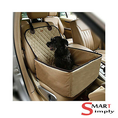 Waterproof Dog Bag Pet Car Carrier Carry Storage Booster Seat Cover For Travel