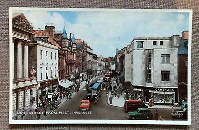 Inverness - High Street from West 1962