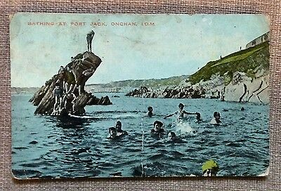 Isle of Man - Bathing at Port Jack - Onchan 1926