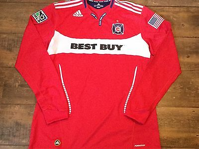 2010 Chicago Fire Player Issue Formation Football Shirt Adults XXL 2XL Jersey