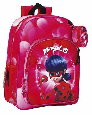 "LADYBUG ""MARINETTE"" Mochila adaptable a carro//  Backpack"