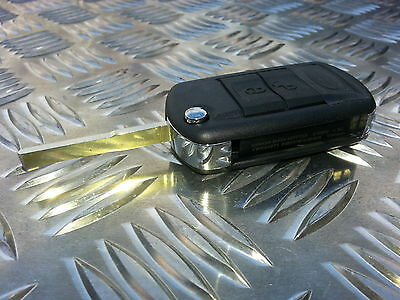Land Rover Discovery 3 & Sport Button Remote Key Fob Central Locking Case Cover