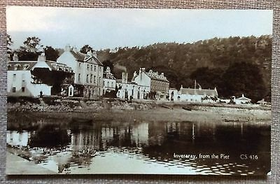 Inveraray -from the Pier real photo
