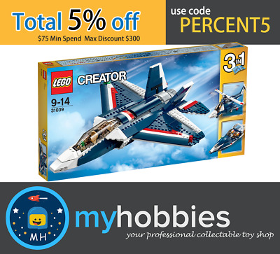 LEGO 31039 Creator - Blue Power Jet Brand New and Sealed